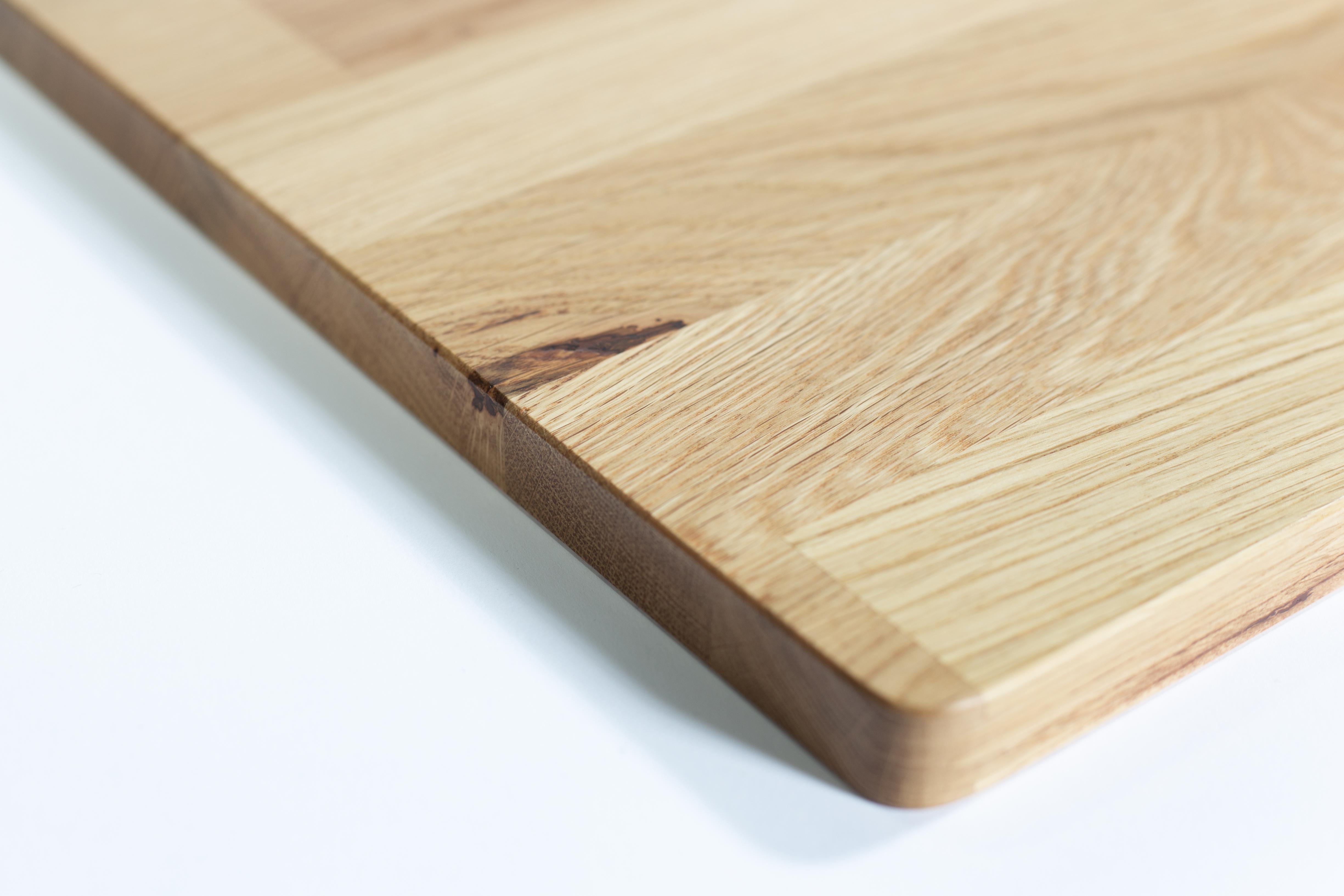 """""""Oaky"""" Tischplatte Eiche für Lagun Tischgestell 700x500mm"""